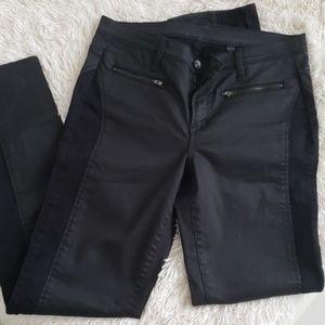Calvin klein straight leg jean im black